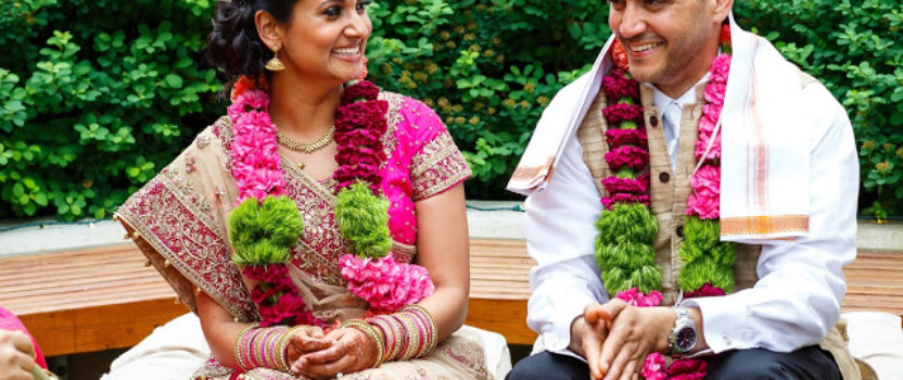 Real Wedding: Yamini and Mark Irvin